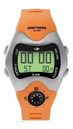 Relógio Mormaii Bussola Digital Retro Mo1324ab-1l Cx E Nota
