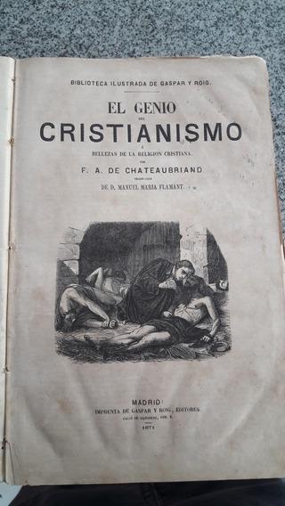 Livro El Genio Cristianismo Antigo 1871