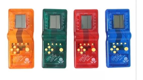 Mini Game Portátil 9999 In 1 Brick Game Tetris Cores
