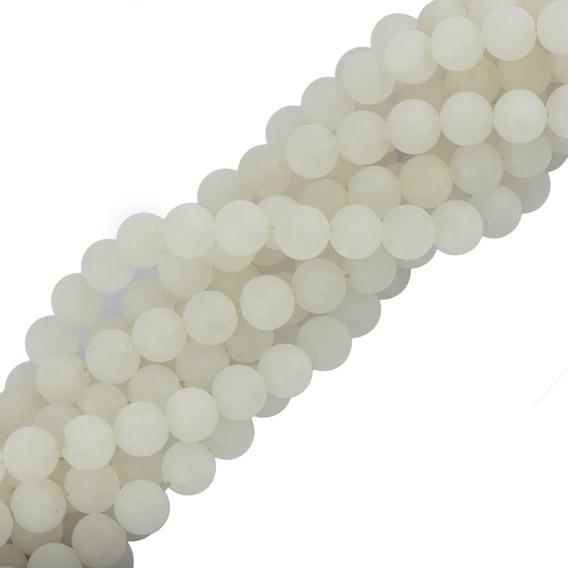 6mm Ofício Jóias Fazendo Natural Branco Jade Pedra Precios