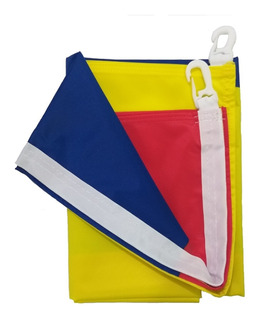 Bandera De Colombia Con Ganchos 90 X 130 Cm