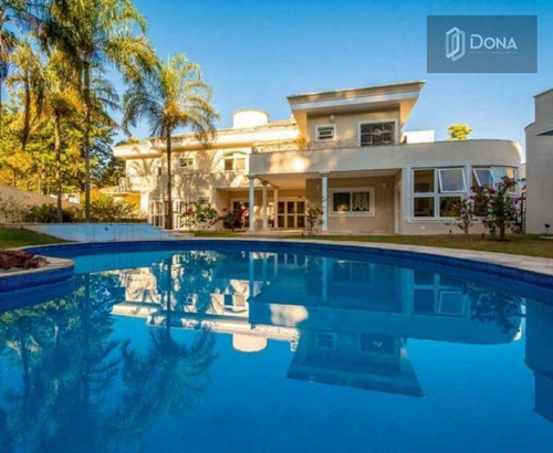 Casa, Condomínio, Venda, Locação,  5 Dormitórios, 5 Suítes , 6 Banheiros, Piscina, Sauna, Alphaville  - Campinas -sp - Ca0356