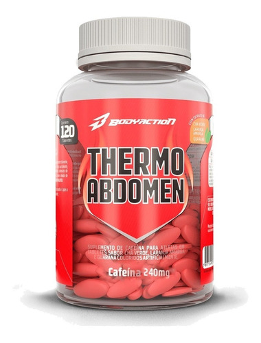Thermo Abdomen - 120 Tabletes - Body Action - Emagrecedor