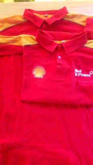Equipo Shell Chombas Xxl Mangas Cortas.