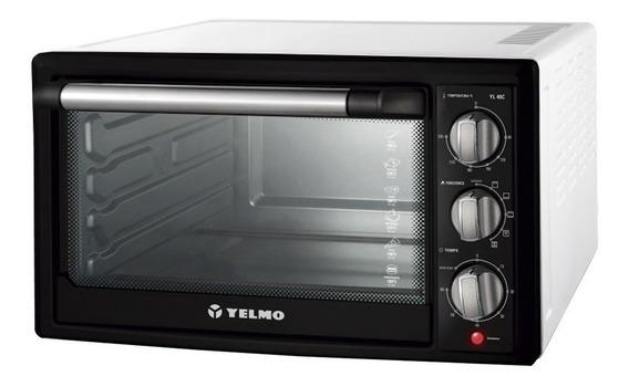 Horno eléctrico Yelmo YL-40C Blanco/Negro