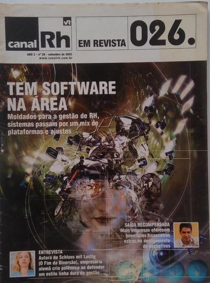 Revista Canal Rh N.26 E N. 27.