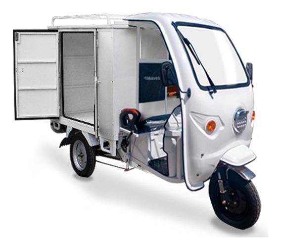 Motocarro Eléctrico Muevetec 2020 Caja Cerrada