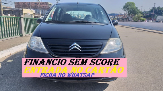 Citroen C3 2006 Completo Economico Sem Score