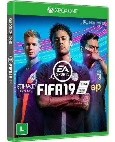 Fifa 19 Xbox One Mídia Física Novo 100% Em Português