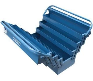 Caixa De Ferramentas Com 7 Gavetas Azul - Marcon - Envio 24h