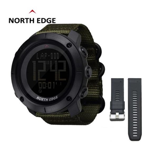 Relógio North Edge Tank Nylon Original Na Caixa