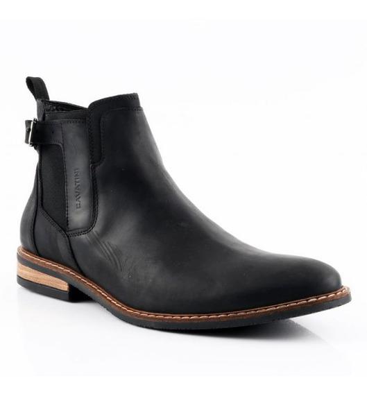 Zapatos Hombre Cavatini Botitas Urbanas Cuero Vacuno Premium