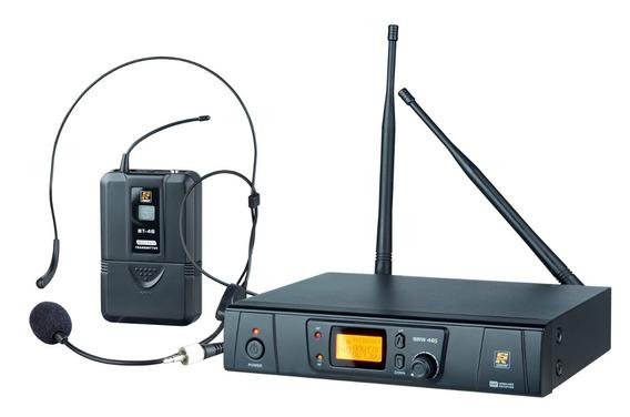 Microfone Staner Sem Fio Digital 48 Canais Srw 48s Bt48 Head