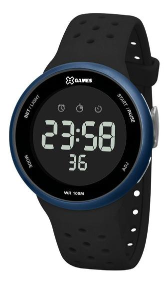Relógio X-games Masculino Digital Xmppd543 Preto Azul