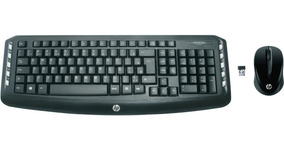 Kit Teclado E Mouse Wireless Hp Com Letra Ç Lv290aa