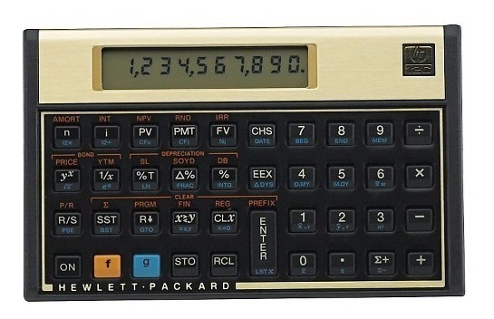 01 Calculadora Financeira Hp 12c Financeira Oferta Platinum