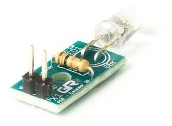 Imagem 1 de 2 de Shield Arduino | Gbk | Modulo Emissor Ir Til32 5mm