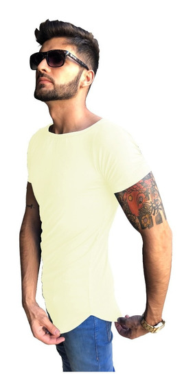 Camisa Camiseta Long Masculina Swag Oversized Longline