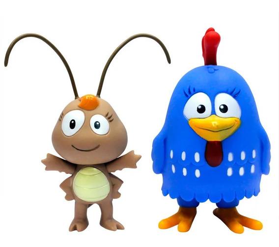Bonecos Líder Brinquedos Galinha Pintadinha E Baratinha