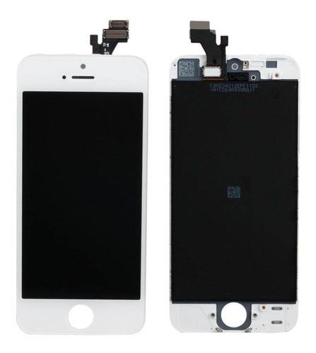 Display Con Táctil iPhone 5 5g Negro Blanco 100% Garantizado