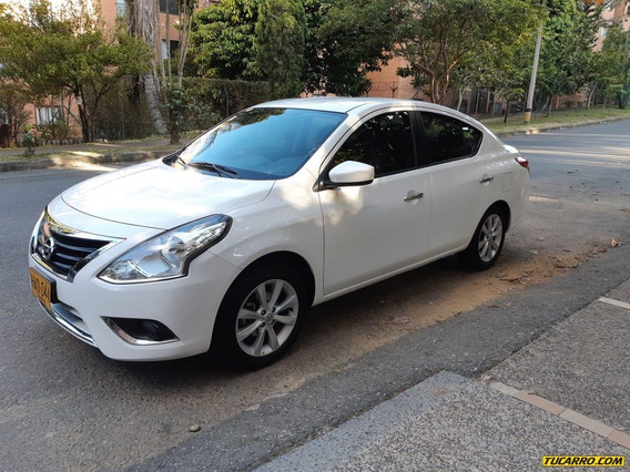 Nissan Versa Advance At 1600 Cc