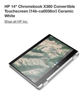 Laptop Hp 14 Chroombook X360 Hd620