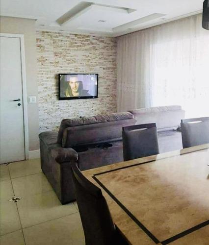 Apartamento Com 3 Dormitórios À Venda, 86 M² Por R$ 614.800,00 - Vila Leonor - Guarulhos/sp - Ap0662