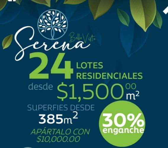 Lotes Residenciales Serena 3 En Bellavista, Dzityá.