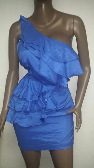Vestido Azul Corto Talla M