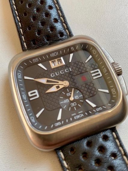 Relógio Gucci Modelo Ya131302 40 Mm. Estado De Zero!