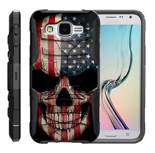 Turtlearmor | Samsung Galaxy E5 Caso | E500 Hiper Choque Ha