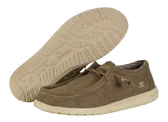 Zonazero Zapatos Mocasines Hey Dude Wally Hombre