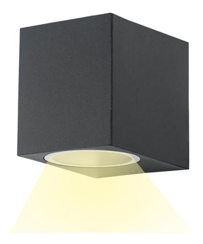 Imagen 1 de 7 de Aplique Luminaria Exterior Led 220v5w Para Pared