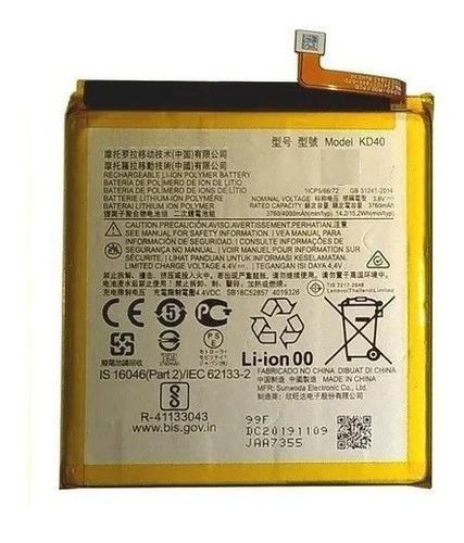 Batería Battery Para Motorola Moto G8 Plus Kd40