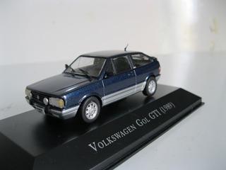 Vw Gol Gti 1989 - 1/43 - Carros Inesquecíveis Do Brasil