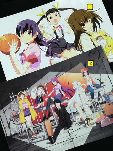 Posters A3 29x42cm Anime Monogatari Series / Niponmania