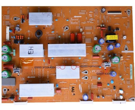 Kit Reparo Da Placa Pl51e490 51eh Xy-main Lj41-10181a Y-sus