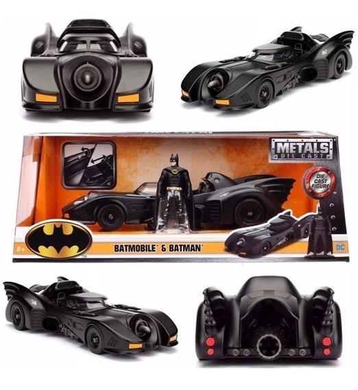 Auto De Colección Metal Batimovil Y Batman Original