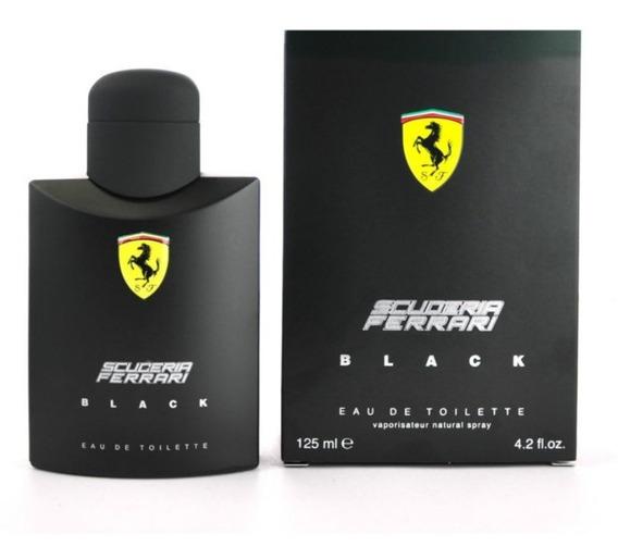 Perfume Ferrari Black 125ml Original Importado + Brinde