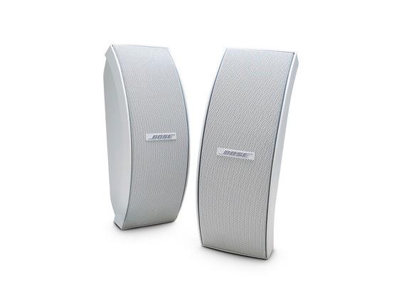 Caixa Acustica Bose 151 Se 100w Externo E Interno Par Branco