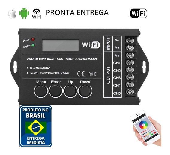 Controlador Wifi Luminária Led Tc421 Aquarios Pronta Entrega