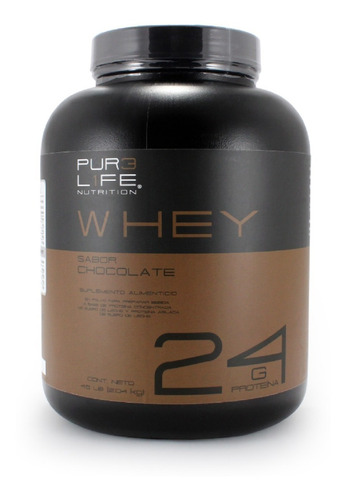 Pur3 L1fe Proteina | 100% Whey Protein | 4.5 Lbs | Chocolate