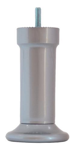 Imagem 1 de 3 de Kit 6 Pé Para Cama Box Castor Gazin Ortobom Torre 13cm