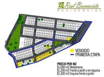 Terrenos Residenciales En Venta Fraccionamiento Real Buenavista