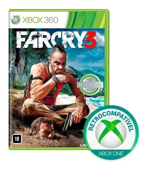Farcry 3 Xbox 360 Mídia Física Português Novo Original