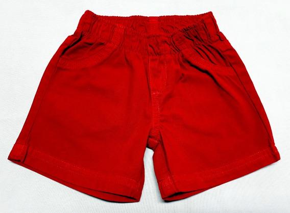 Shorts Bebê Em Sarja Da Puc