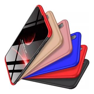 Capa Capinha Protetor Anti Impacto Luxo 3 Em 1 Slim Celular Samsung Galaxy A10 Tela 6.2
