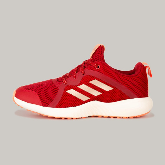 Tenis adidas Fortarun X K G27211 Rojo Mujer #23 Al #24