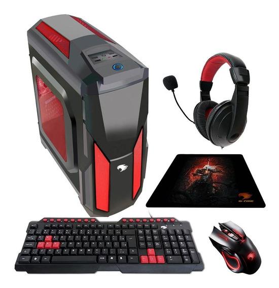 Pc Gamer G-fire Htg-336r Amd Fx 6300 4gb Pv Rx 560 4gb 500gb