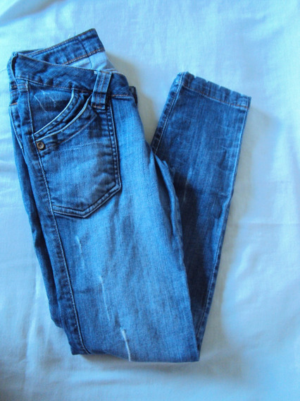Calça Jeans Feminina Tamanho 34 =r